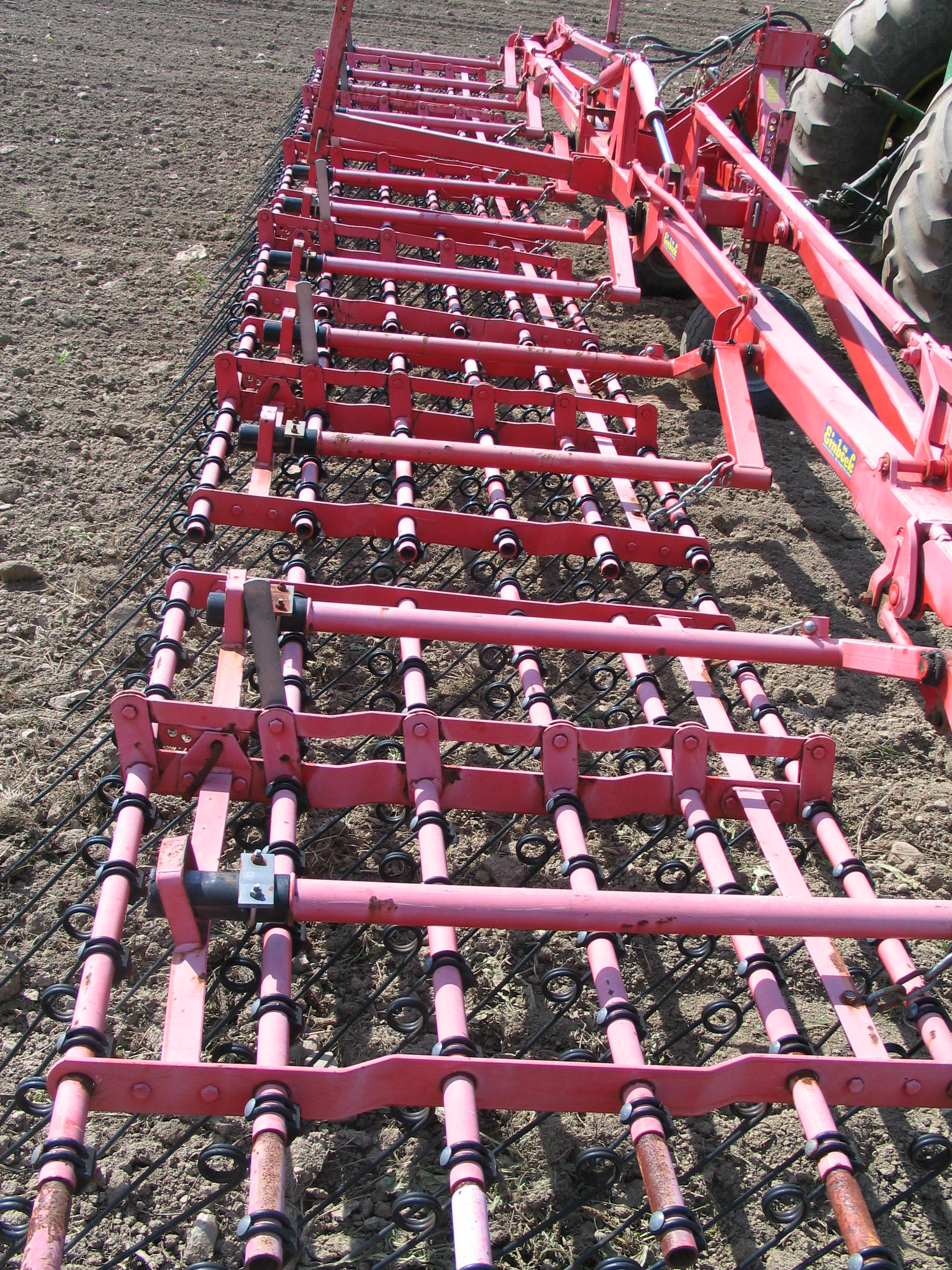 Einbock Tine Weeder, Thorpe's Family Farm