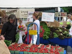 Eastbank Farmers' Market Portland, Oregon