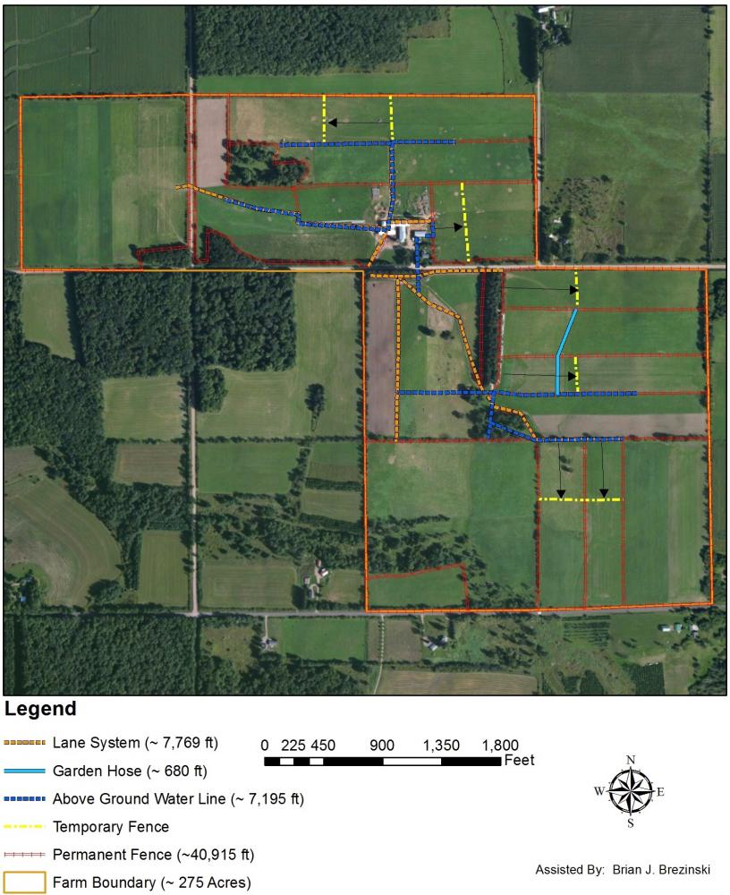 Grazing acres farm organic dairy case study extension for 1 acre farm layout
