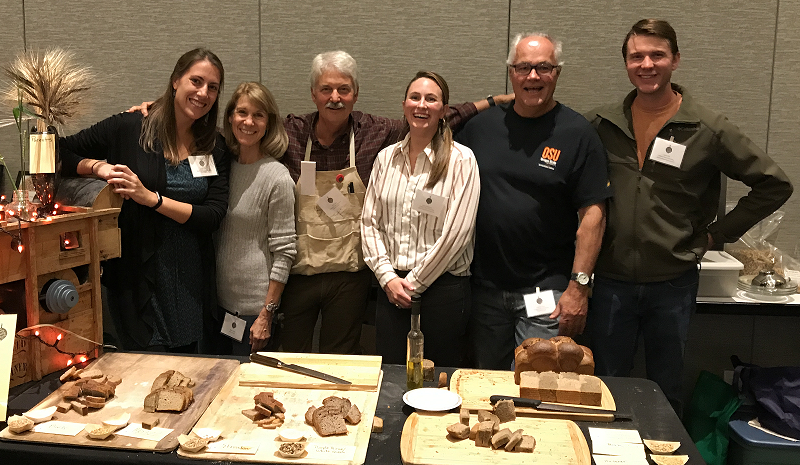 Barley project members at the 2017 Culinary Breeding Institute Variety Showcase